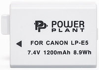 Аккумулятор для Canon LP-E5 (PowerPlant) 1200mAh, фото 1