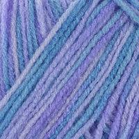 Пряжа 'Adelia Jane' 100 акрил 227м/50гр (08 т.голубой-голубой) (комплект из 2 шт.)