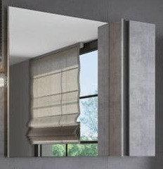 """Зеркало шкаф  """"Эдинбург 90"""" с полкой"""