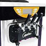 Аппарат для мороженого Guangshen BJ368С 220V мощность двигателя 2800w, 36-38л в сутки, фото 4