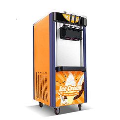 Аппарат для мороженого Guangshen BJ368С 220V мощность двигателя 2800w, 36-38л в сутки