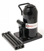Домкрат бутылочный 15т  с клапаном+доп. ремкомплект (h min-225мм, h max-425мм, ход штока-140мм, ход