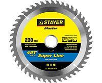 STAYER Super line 230 x 30 мм 48Т, диск пильный по дереву