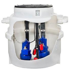Водоподъемные фекальные установки / Канализационные насосные станции Evamatic-Box N