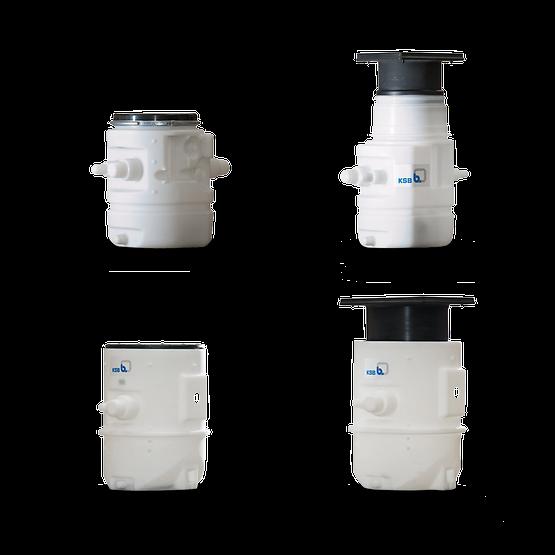 Водоподъемные фекальные установки / Канализационные насосные станции Ama-Drainer-Box