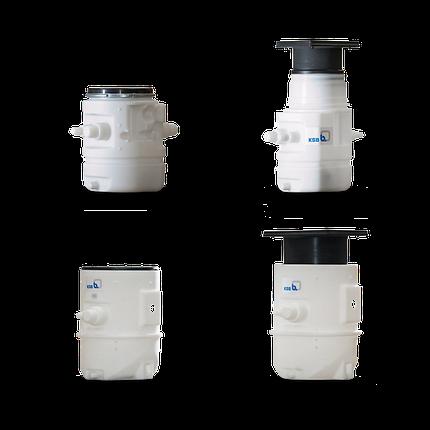 Водоподъемные фекальные установки / Канализационные насосные станции Ama-Drainer-Box, фото 2
