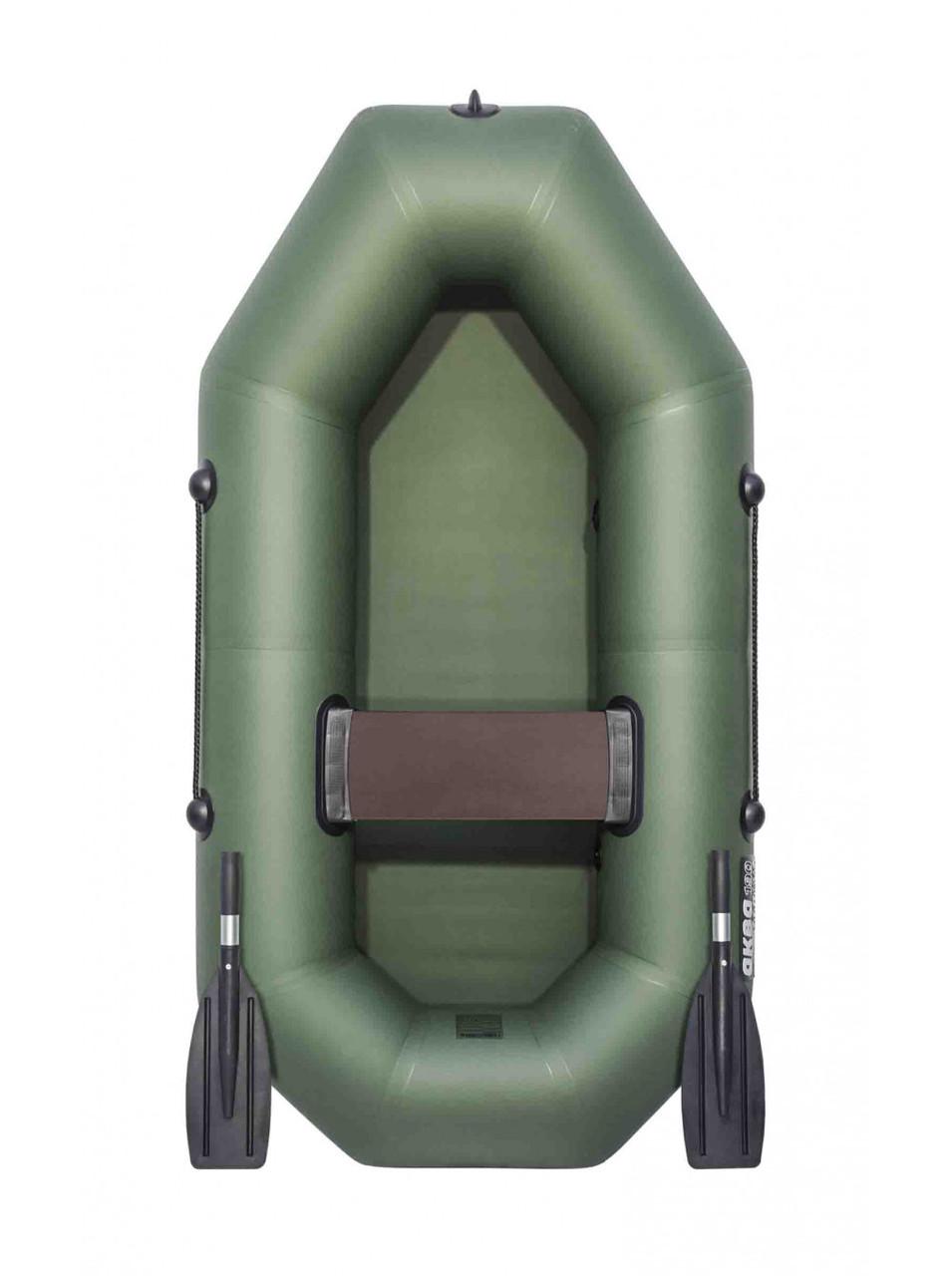 Лодка АКВА-ОПТИМА 190 зеленая