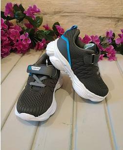 Мягкие летние кроссовки на липучке 24 размер