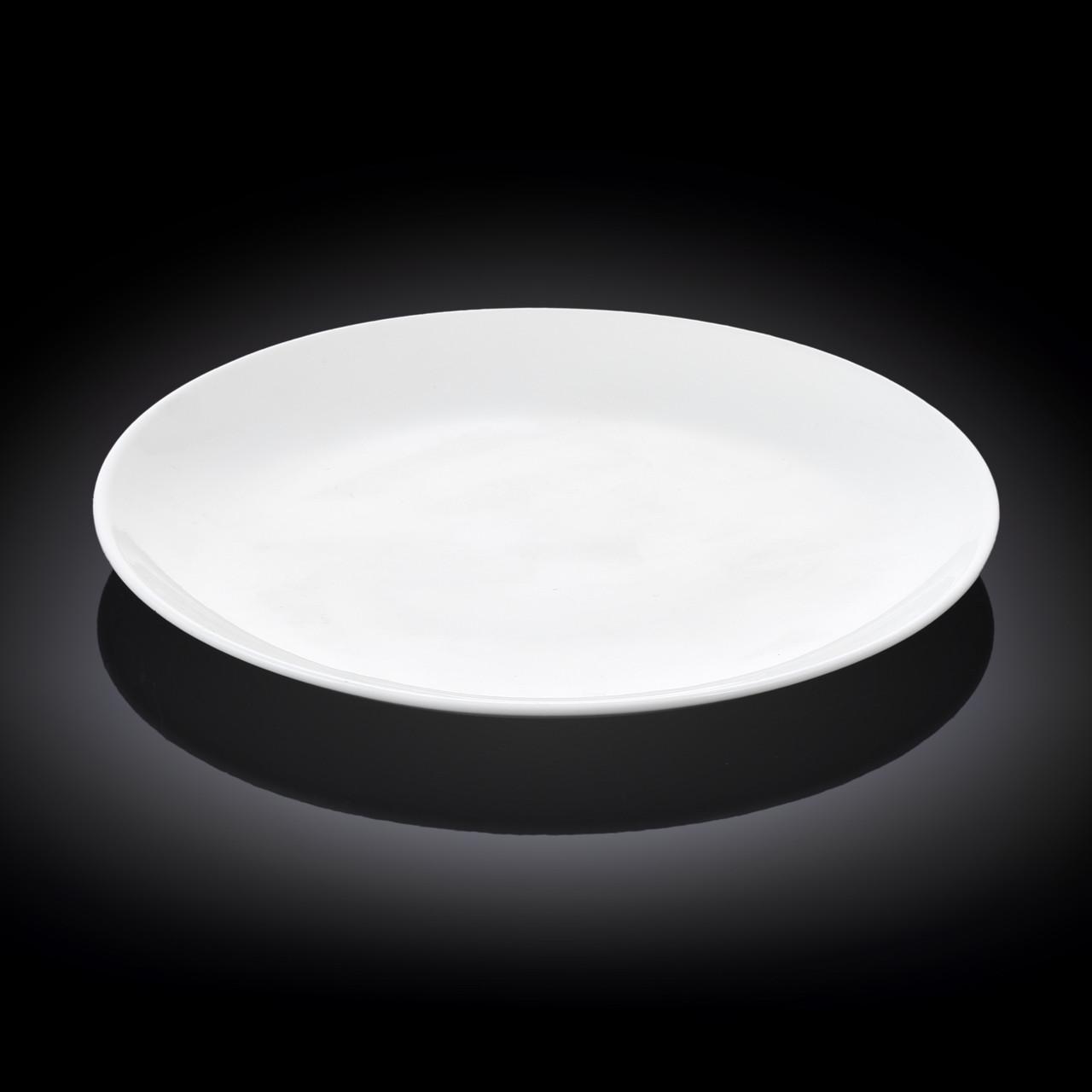 Тарелка обеденная Wilmax круглая 25,5 см