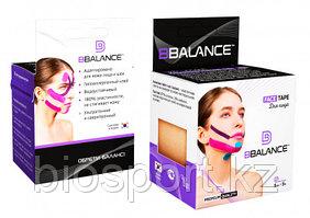 Кинезио тейп для лица BB Face Tape 5 см × 5 м хлопок