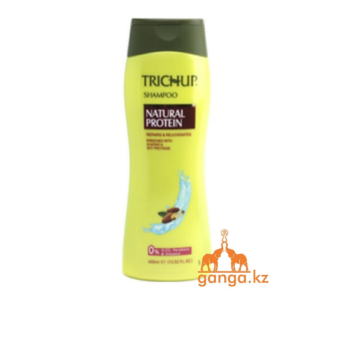 Тричап шампунь с натуральным протеином (Natural Protein Trichup VASU), 400 мл