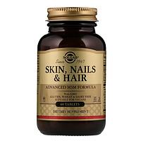 БАД Кожа, ногти и волосы, улучшенная МСМ формула (60 таблеток)