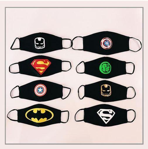 Супергеройские маски для малышей!