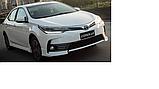 Бампер передний на Toyota Corolla 2016-2018 гг., фото 2