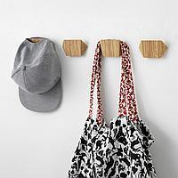 СКУГГИС Крючок, бамбук, 9.8x5.7 см, фото 1