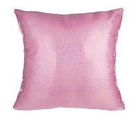 Подушка глиттерная розовая
