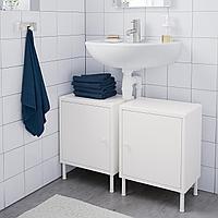 ДИНАМ Шкаф с дверью, белый, 40x27x54 см, фото 1
