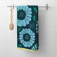 САНДВИЛАН Банное полотенце, синий, разноцветный, 70x140 см