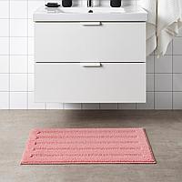 ЭМТЕН Коврик для ванной, светло-розовый, 50x80 см