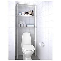 ДИНАМ Модуль для хранения, белый, 70x20x189 см
