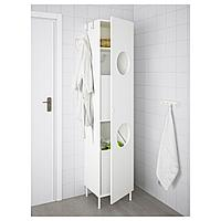 ЛИЛЛОНГЕН Шкаф, белый, белый белый 40x38x189 см