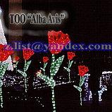 """Фигуры личные светящиеся светодиодные акриловые 3D  Цветок """"Тюльпан"""", фото 2"""