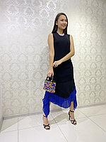 Платье Черное Молодежное Стильное Эксклюзивное Турция