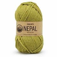 Пряжа DROPS Пряжа DROPS Nepal Цвет.8038 Light olive