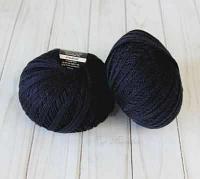 Пряжа Seam Пряжа Seam Merino Silk 50 Цвет.08 Т.Синий