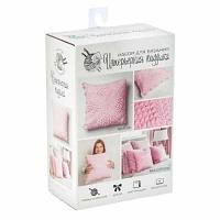 """Набор для вязания Арт Узор 2117334 Набор для вязания Интерьерная подушка """"Розовые сны"""""""