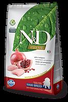 Низкозерновой корм Farmina N&D для щенков крупных пород (Гранат) - 2.5 кг