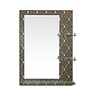 Зеркало настенное для ванных комнат с бортиком 50/70, фото 3