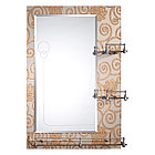 Зеркало настенное для ванных комнат с бортиком 50/70, фото 9