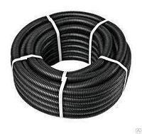 Труба гофр. DN23мм, ПВ-2, Dвн 22,6 мм, Dнар 28,5 мм, цвет чёрный