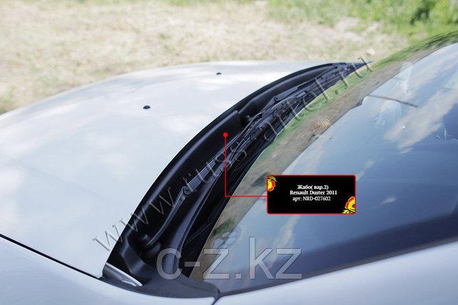 Жабо цельное  (вставное) Renault Duster 2010 - н.в., фото 2