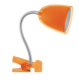 Светильник NDF-C002-3W-6K-O-LED прищепка, гибкий, оранжевый 94 794 Navigator