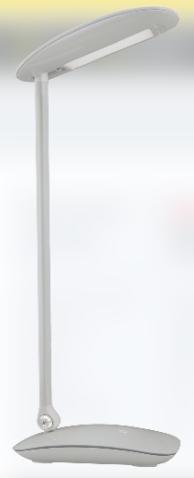 Светильник NDF-D004-7W-4K-S-LED на осн. USB вых.,димм,серый 94 987 Navigator