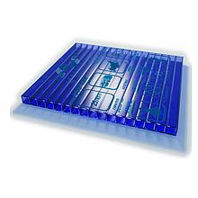 Сотовый поликарбонатный лист цветной Skyglass 2100х6000х6мм