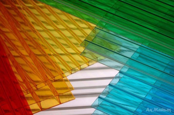 Сотовый поликарбонатный лист цветной Skyglass 2100х12000х6мм, фото 2