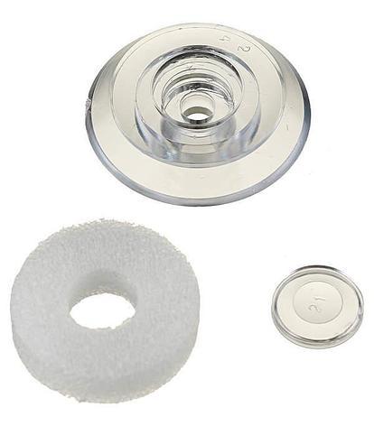 Термошайба универсальная для поликарбонатного листа, прозрачная, фото 2