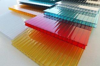 Сотовый поликарбонатный лист цветной КинПласт 2100х12000х25мм