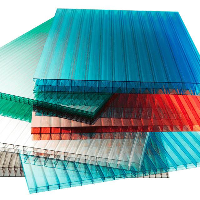Сотовый поликарбонатный лист цветной Skyglass 2100х6000х10мм