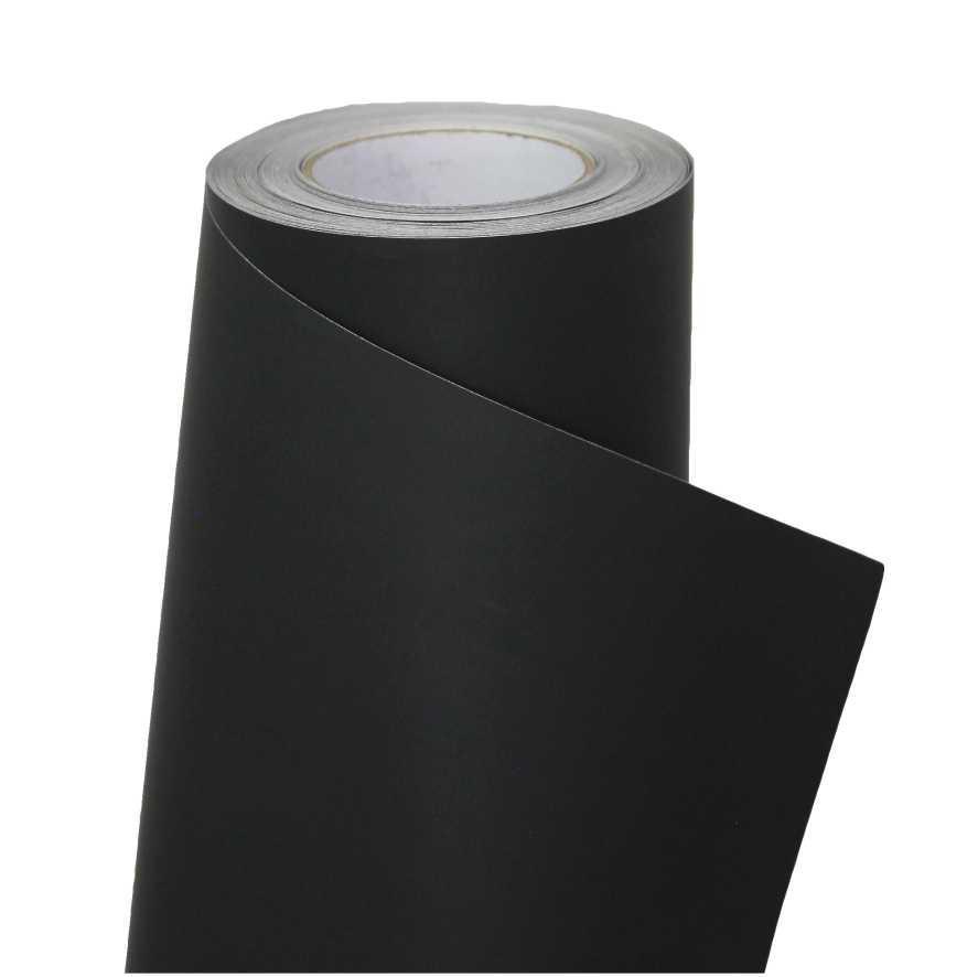 Пленка (декоративная) 1,22*30 9401B - Софт тач черный