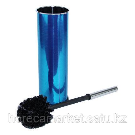 Ершик для унитаза с емкостью из нержавеющей стали, фото 2