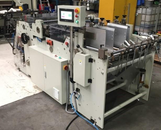 Автоматическая формовочная машина для лотков фаст-фуда  в 2 потока BOXXER 1000-2A