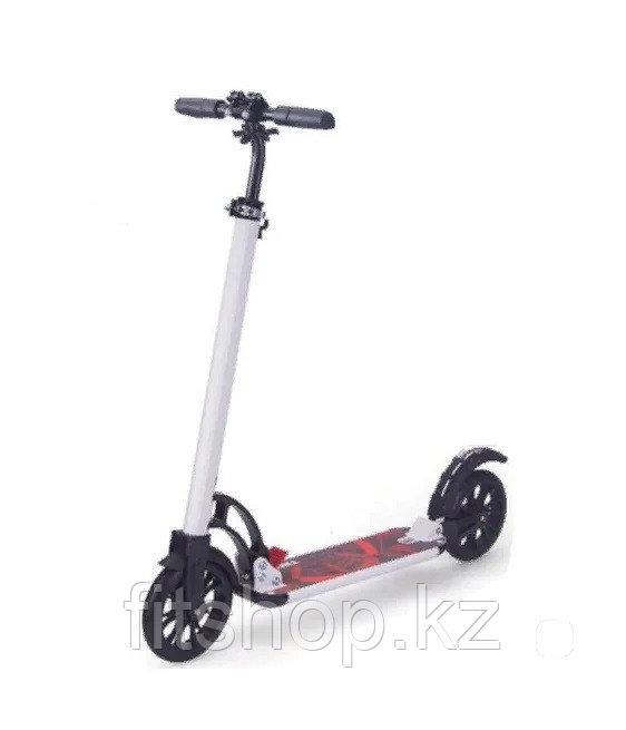 Самокат  Scooter Sports Fun  белый, черный  до 90 кг
