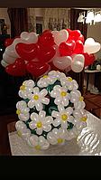 Букет из шаров для девушки