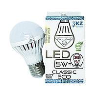 Лампа светодиодная серии CLASSIC 5W цоколь Е27 -3000К-Теплый белый свет