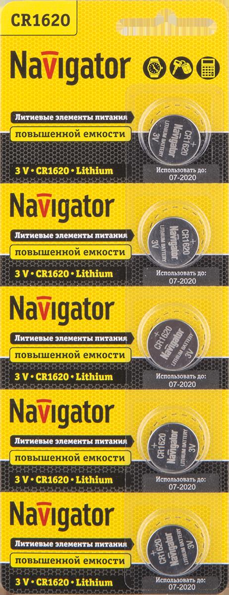 Элемент питания NBT-CR1620-BP5 94 780 Navigator