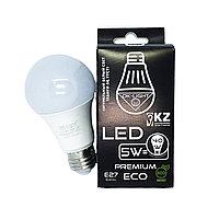 Лампа светодиодная серии PREMIUM 5W цоколь Е27 - 4100К-Натуральный белый свет